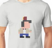 The Eleventh Doctor in pixel Unisex T-Shirt