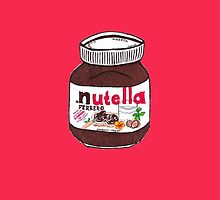 Nutella Pink Iphone 5 Case by tayiles
