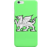 Welch Flag Dragon iPhone Case/Skin