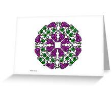 Grapes c2 Greeting Card