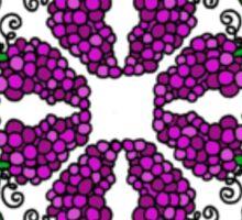 Grapes c2 Sticker