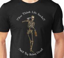 Death Sux (white text) Unisex T-Shirt
