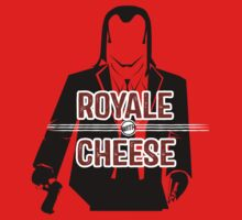 ROYALE WITH CHEESE by ianshawdesign