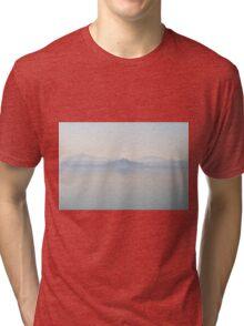City lost in dreams, città perse nello spazio, Castiglione Del Lago, Lago Trasimeno, Umbria, Italy Tri-blend T-Shirt