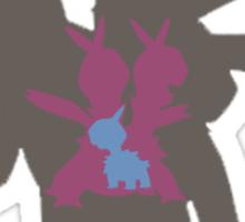 Ein, Zwei, Drei | Pokémon Sticker