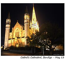 Bendigo Cathedral by shaynetwright