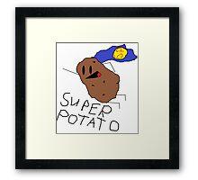 Super Potato Framed Print