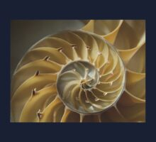 Spiral shell of nautilus One Piece - Long Sleeve