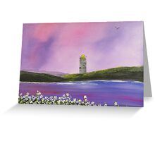 Daisies and Lighthouse Greeting Card