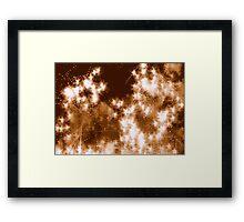 60s Astronomy Framed Print