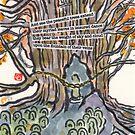 700 year-old Katsura Tree (Travel Diary Series) by dosankodebbie