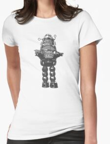 Forbidden Planet, Robot, Space, Science Fiction, Robby The Robot Womens Fitted T-Shirt