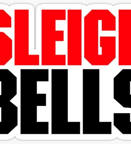 Sleigh Bells Red&Black Logo Sticker