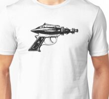 Raygun, Ray Gun, Space Gun, Science Fiction, Pistol Unisex T-Shirt