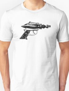 Raygun, Ray Gun, Space Gun, Science Fiction, Pistol T-Shirt