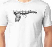 Raygun, Ray Gun, Space Gun, Science Fiction, Pistol Unisex T-Shirt