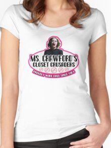 Mommie Dearest Closet Crusader Women's Fitted Scoop T-Shirt