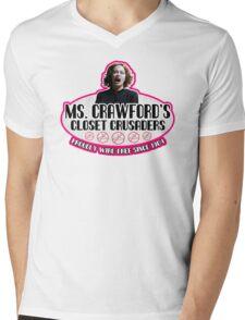 Mommie Dearest Closet Crusader Mens V-Neck T-Shirt