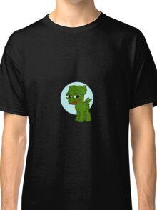 'Pepe' the smug Pony - Frog Classic T-Shirt