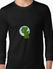 'Pepe' the smug Pony - Frog Long Sleeve T-Shirt