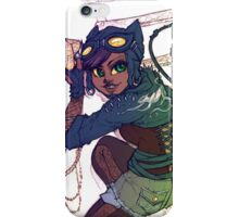 Selina Kyle Catwoman Punk Rocker Hipster iPhone Case/Skin