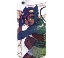 Selina Kyle Catwoman Punk Rocker Hipster iPhone Case/Skin