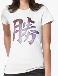 Success Kanji Womens Fitted T-Shirt
