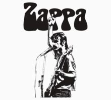 Frank Zappa givin' the finger One Piece - Short Sleeve