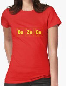 BaZnGa Bazinga Periodic Table Womens Fitted T-Shirt