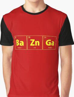 BaZnGa Bazinga Periodic Table Graphic T-Shirt