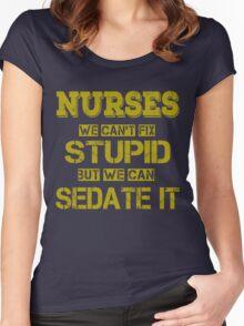 Nurses Women's Fitted Scoop T-Shirt