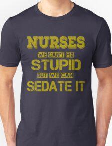 Nurses Unisex T-Shirt