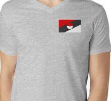 Pokemon Nation Flag Mens V-Neck T-Shirt