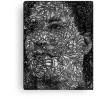 Facepage - Self-portrait Canvas Print