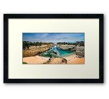 Loch Ard Gorge Panorama Framed Print