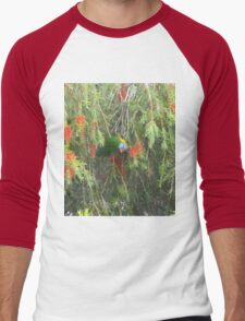 What Are You Looking At? Men's Baseball ¾ T-Shirt