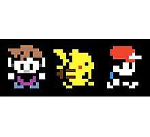Pokemon Pixel Photographic Print