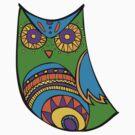 Deco Owl - Pinata by Hyululu