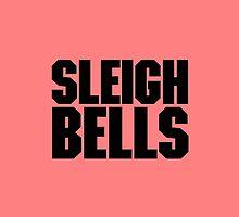 Sleigh Bells Black Logo by djcoop64
