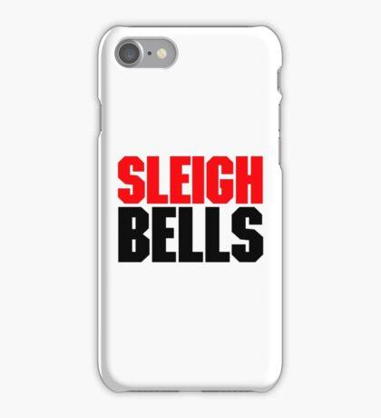Sleigh Bells Red&Black Logo iPhone Case/Skin