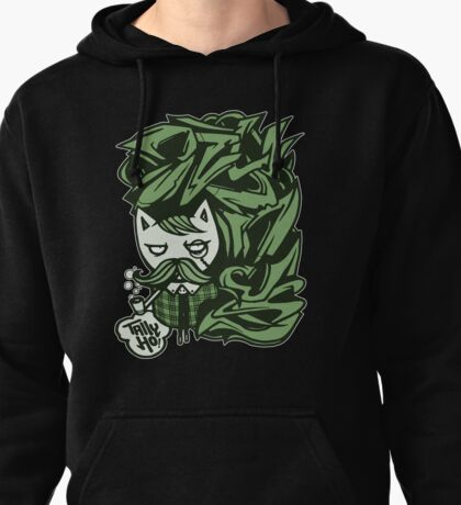 Tally-Ho! Green Pullover Hoodie