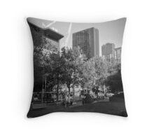 Swanston Street Throw Pillow