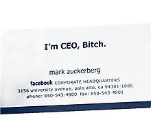 I'm CEO Photographic Print