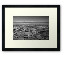 a continent divided Framed Print