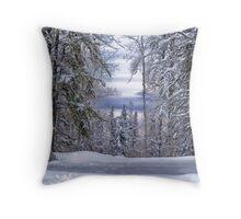 Winagami Lake Provincial Park Throw Pillow