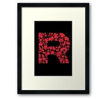 Rocketmon (Lunarscape) Framed Print
