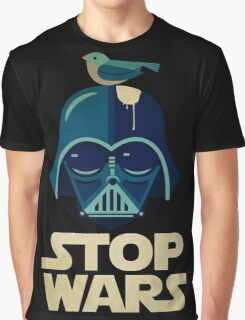 Stop Wars [Funny Version] Graphic T-Shirt