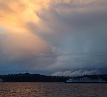 Rolling Storm and Ferry by RdwnggrlDesigns