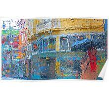 Vesuvio Umbrella Poster