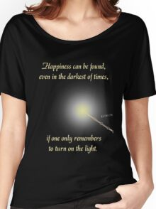Harry Potter Happiness Quote Women's Relaxed Fit T-Shirt